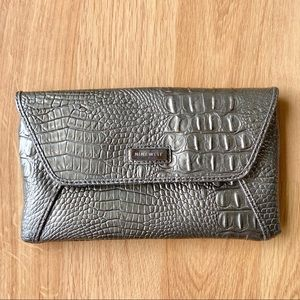 Nine West Clutch Purse Gray
